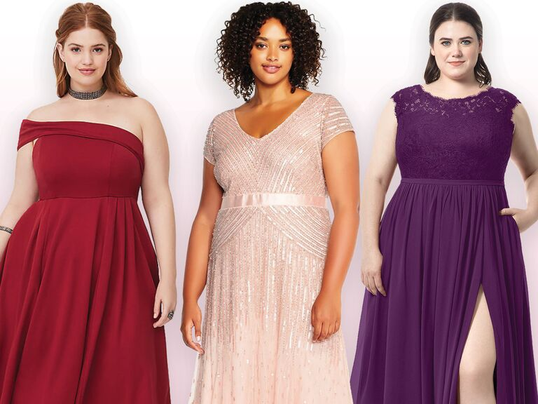 Long Plus Size Bridesmaid Dresses