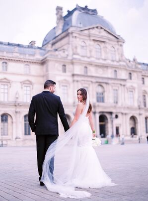 Elegant, Intimate Wedding in Paris