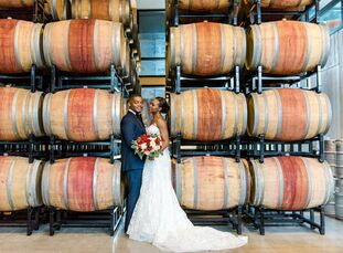 Channing Martin (29 and a strategic planner) and Bobby Jones (32 and an IT director) settled on a universal theme when planning their DIY wedding: the