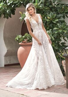 Jasmine Collection F211065 Ball Gown Wedding Dress