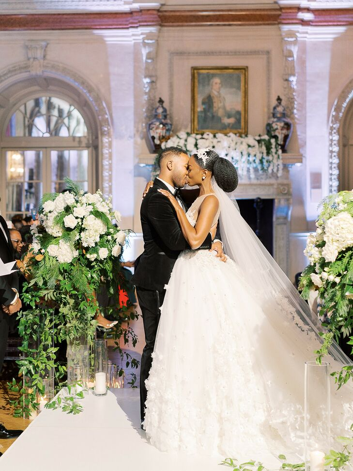 Winter Wedding Ceremony in Washington, D.C.