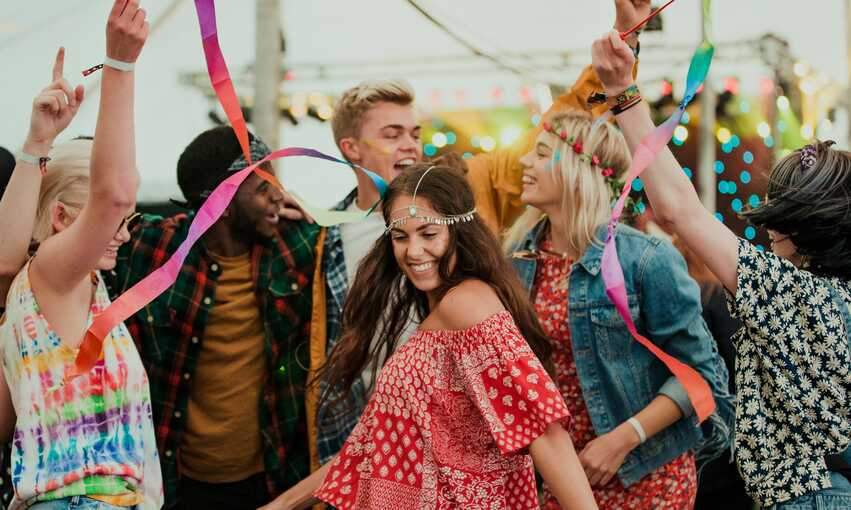 Coachella party themed inspiration and ideas