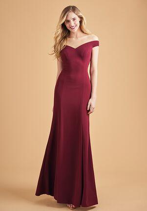 Belsoie Bridesmaids by Jasmine L204063 Illusion Bridesmaid Dress
