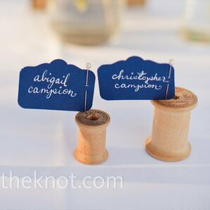 Spool Escort Cards