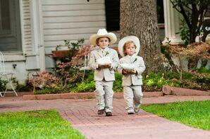 Cowboy Ring Bearers