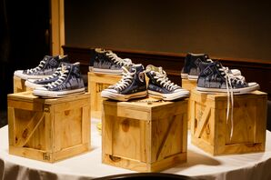 Casual Converse Shoes for Wedding Party
