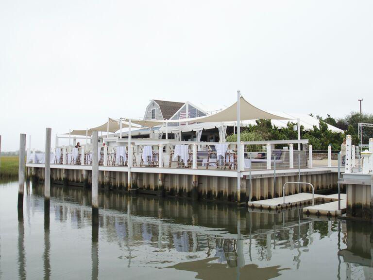Hamptons wedding venue in East Quogue, New York.