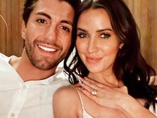 Kaitlyn Bristowe shows off her engagement ring and her new fiancé Jason Tartick