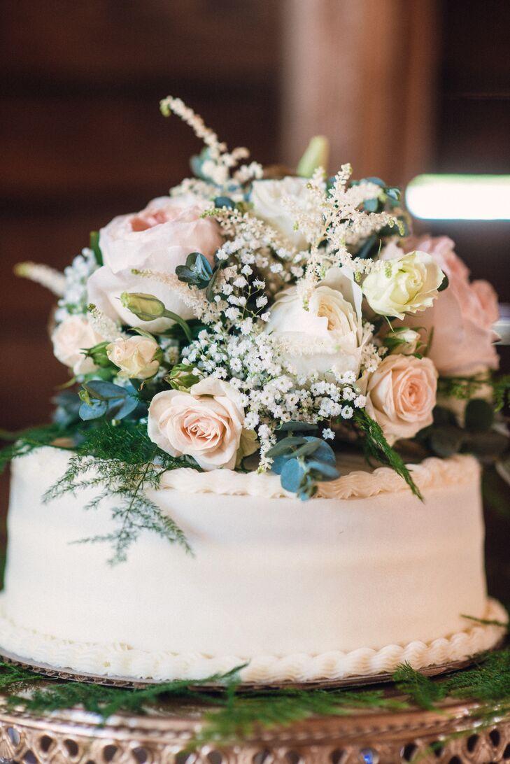 Romantic Cake Flowers