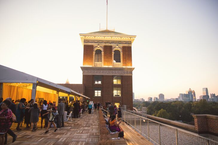 Outdoor Reception at Ponce City Market