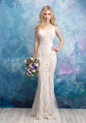 Allure Bridals 9571 Sheath Wedding Dress