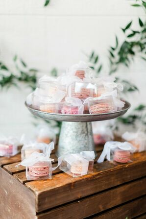 Pink French Macaron Favors