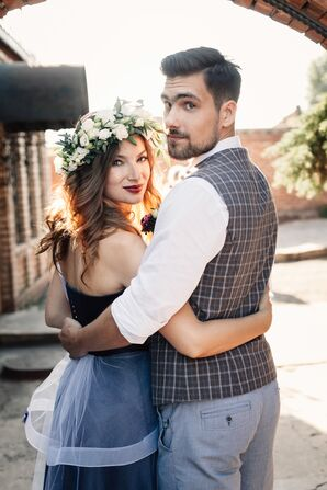 Alternative Bohemian Forest Wedding