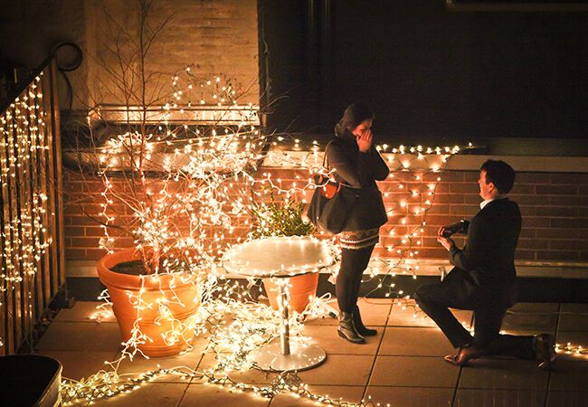 Proposal Photography | Paparazzi Proposals | blog.theknot.com