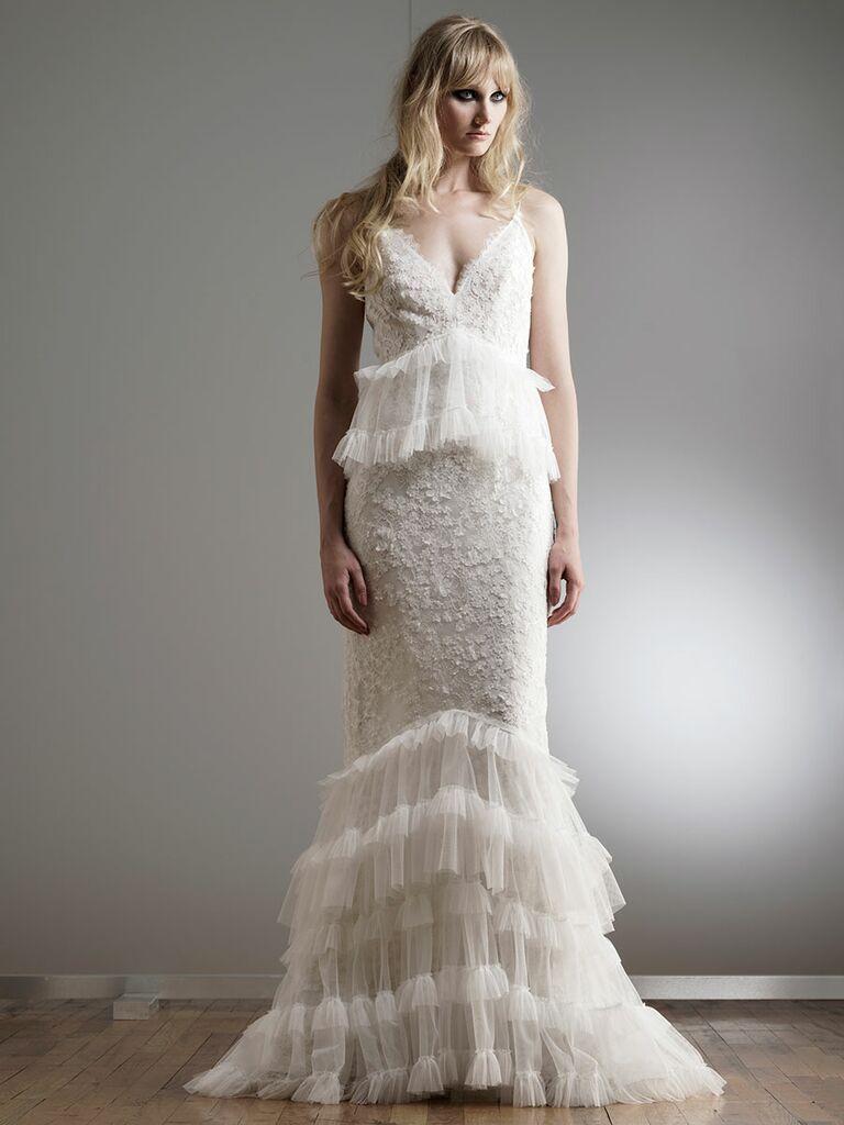 Elizabeth Fillmore Spring 2018 Collection Bridal Fashion Week Photos