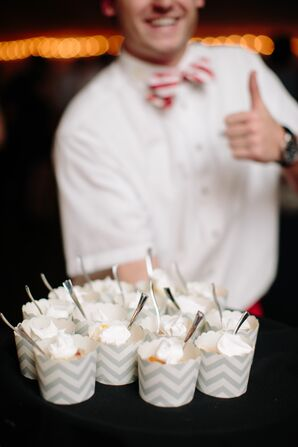 Groom's Mini Peach Cobbler Dessert