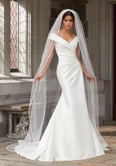 Morilee by Madeline Gardner/Blu Stacey 5812 Sheath Wedding Dress