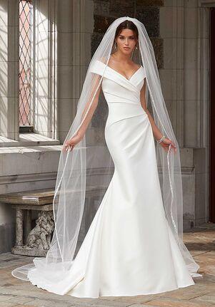 Morilee by Madeline Gardner/Blu Stacey 5812 Sheath Wedding Dress