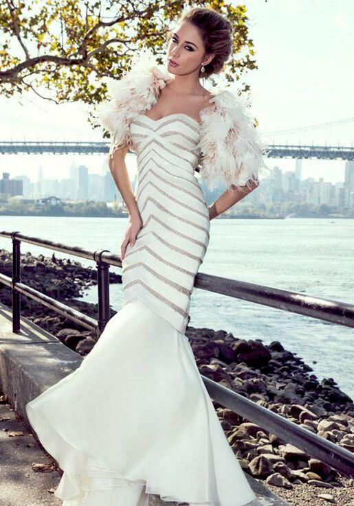 Stephen Yearick KSY78 Mermaid Wedding Dress