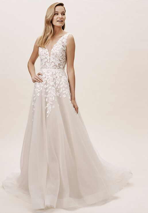 BHLDN Carmel Gown A-Line Wedding Dress