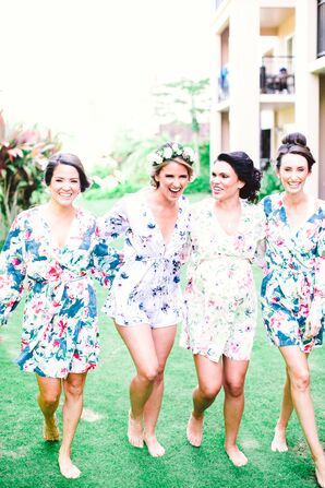 A Retro Hawaiian-Themed Wedding