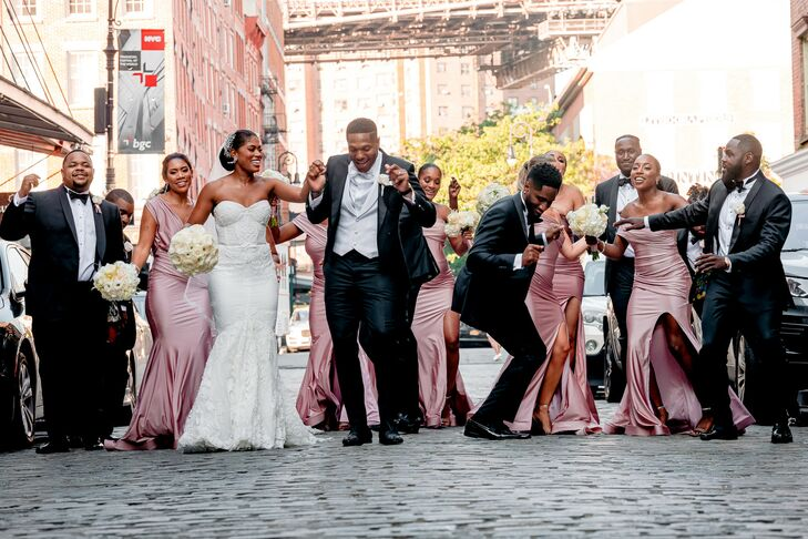 Wedding Party Portraits in New York City