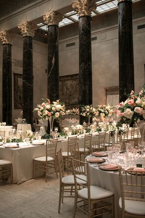Luxe Reception at The Nelson-Atkins Museum of Art in Kansas City, Missouri