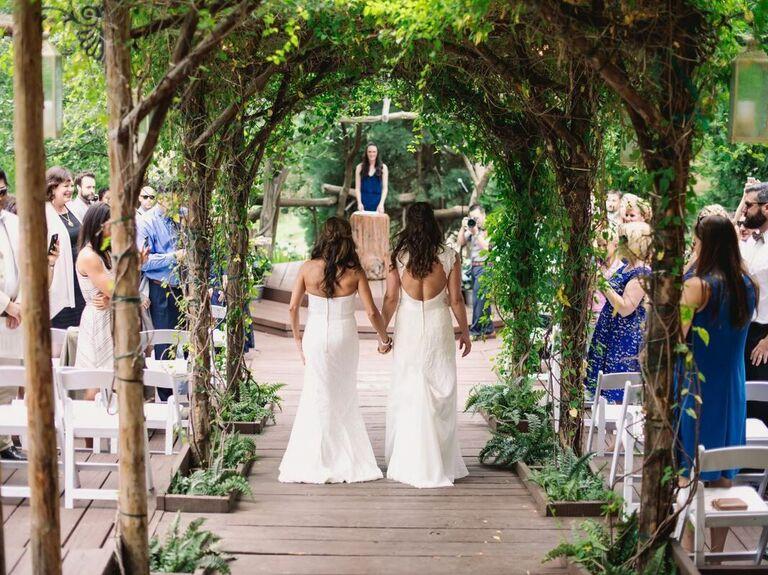 Wedding venue in Lake Arrowhead, California.