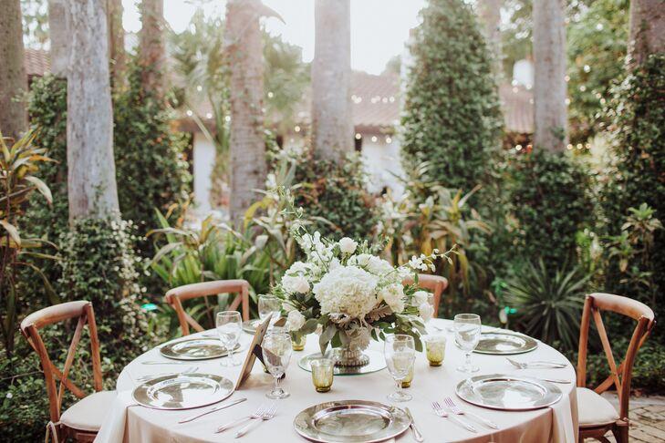 Classic Garden Reception Table