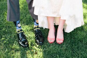 Batman Groom's socks