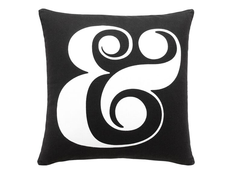 Kate Spade New York Ampersand pillow