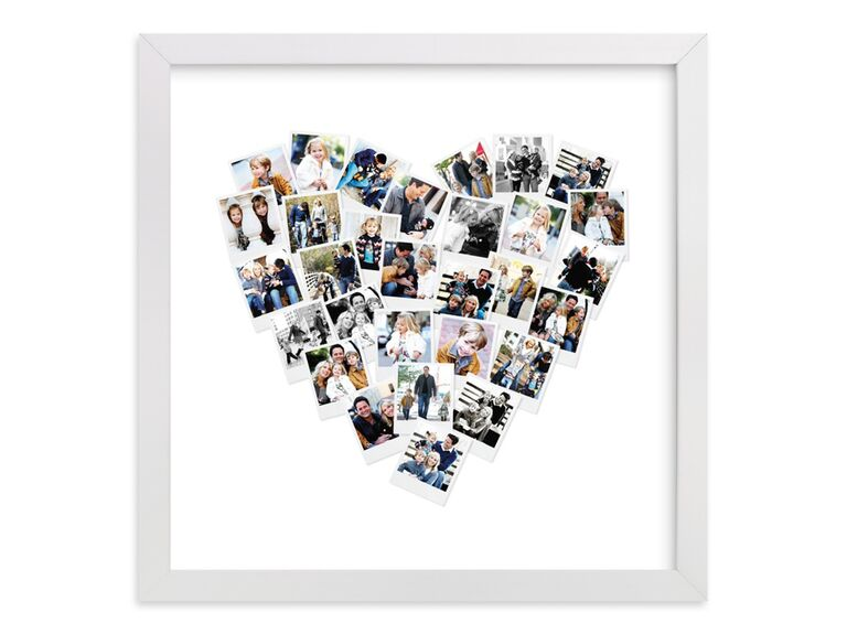 Heart photo art cute Valentine's Day gift for her