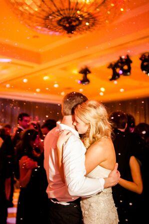 Snow Confetti for Last Dance in Austin, Texas