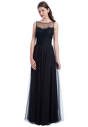 Bill Levkoff 1177 Illusion Bridesmaid Dress
