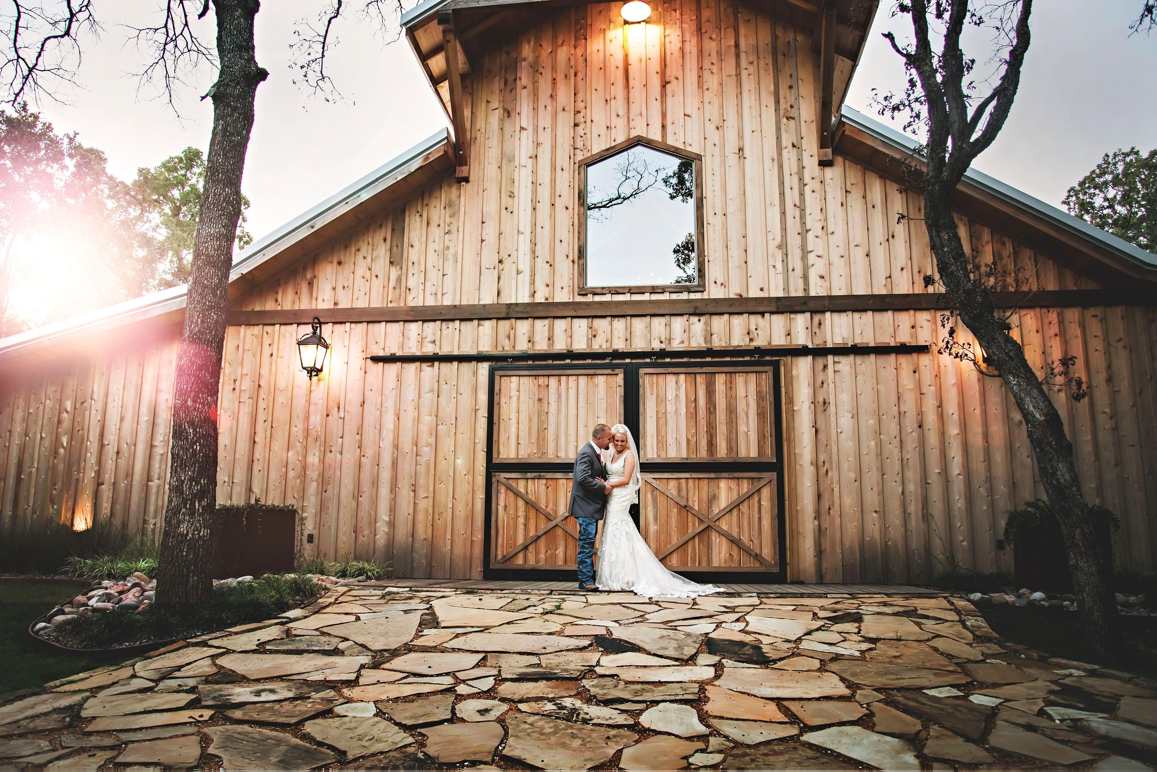 Valley view wedding