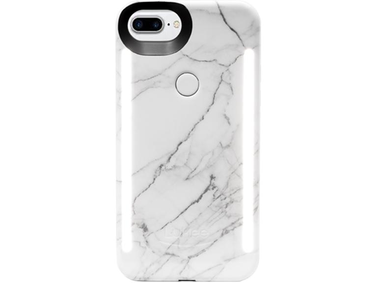 LuMee Duo Marble iPhone cas