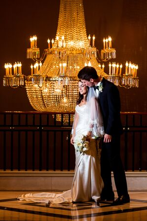 Leah and Grant's Luxe Ballroom Wedding