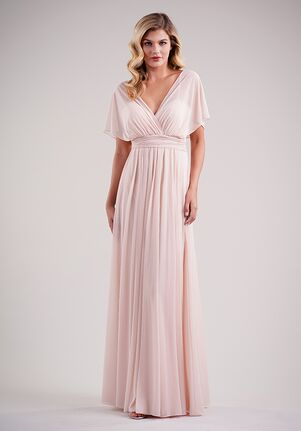 Belsoie Bridesmaids by Jasmine L224012 V-Neck Bridesmaid Dress