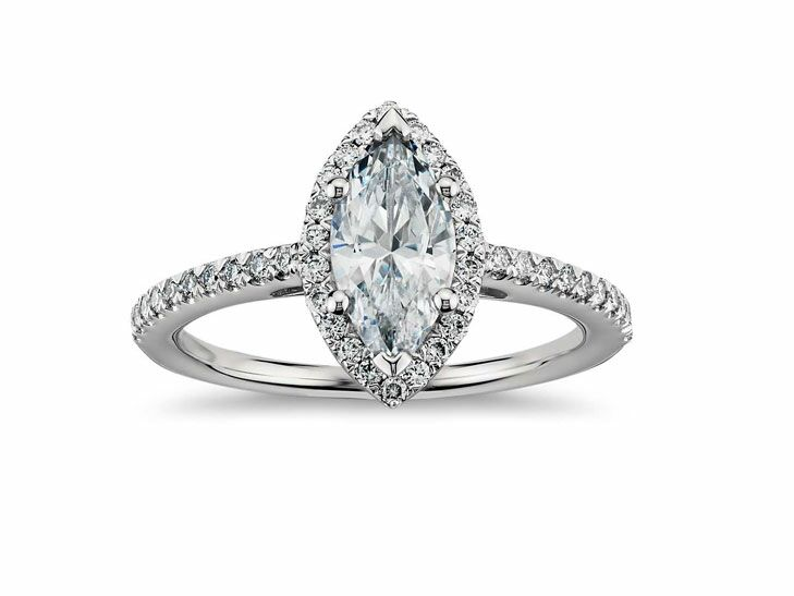 Blue Nile Vintage Inspired Engagement Ring