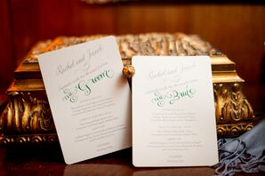 Traditional Whimsical Wedding Invitations