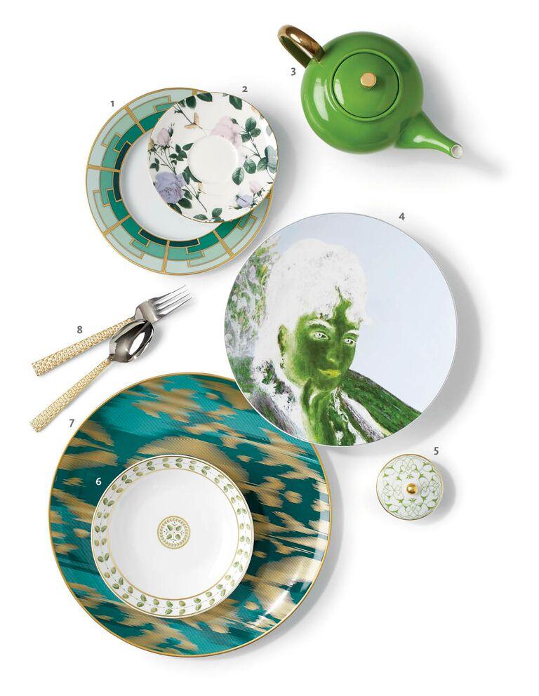 Green mixed china