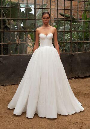 ZAC POSEN FOR WHITE ONE COCO Mermaid Wedding Dress