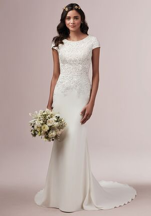 Rebecca Ingram DANIELLA Sheath Wedding Dress