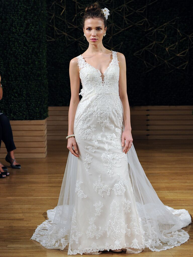 Maggie Sottero Spring 2018 lace fit and flare wedding dress