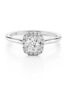 The Forevermark Engagement & Commitment Collection Classic Cushion Cut Engagement Ring