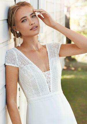 Rosa Clará Boheme CANOA Sheath Wedding Dress