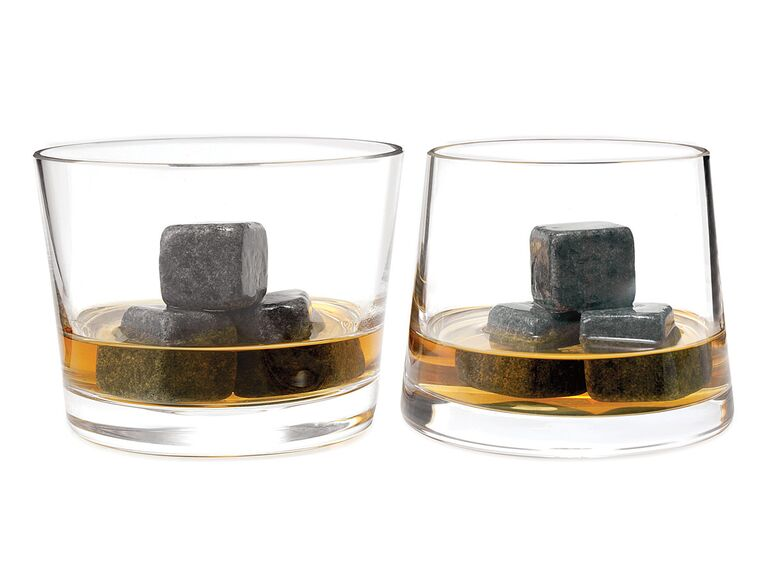 Uncommon Goods whiskey stone chillers groosmen gift