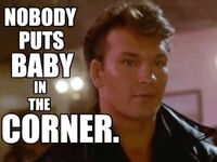 Dirty Dancing movie GIF Patrick Swayze