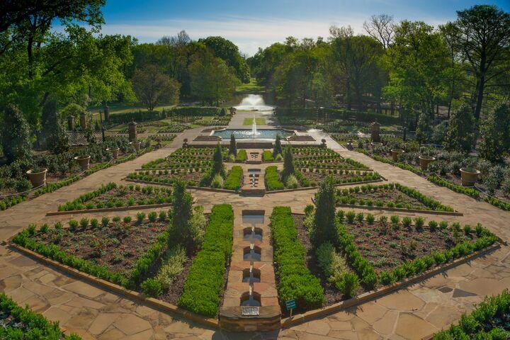 Fort Worth Botanic Garden Fort Worth Tx