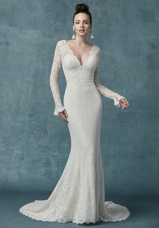 4ba35931 Maggie Sottero Antonia Wedding Dress | The Knot